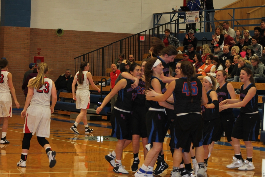 Lady Mustangs beat Chadron at Subdistricts