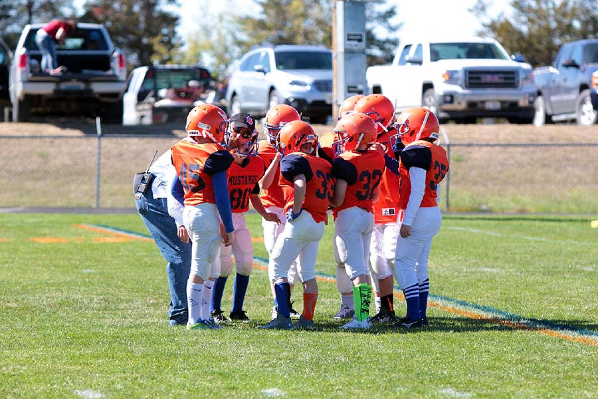 Youth football program preparing kids for future