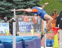 Campbell jumps to silver at state track