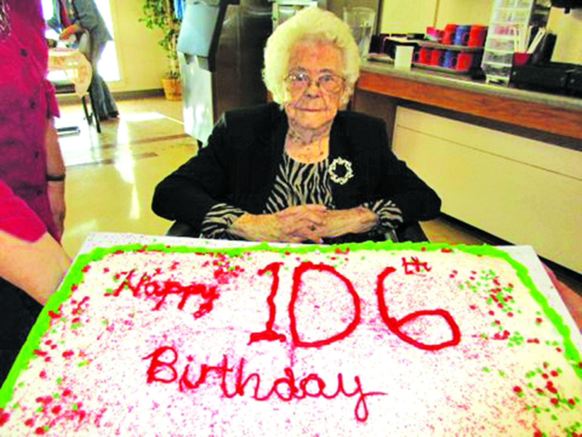 Pisacka celebrates her 106 birthday