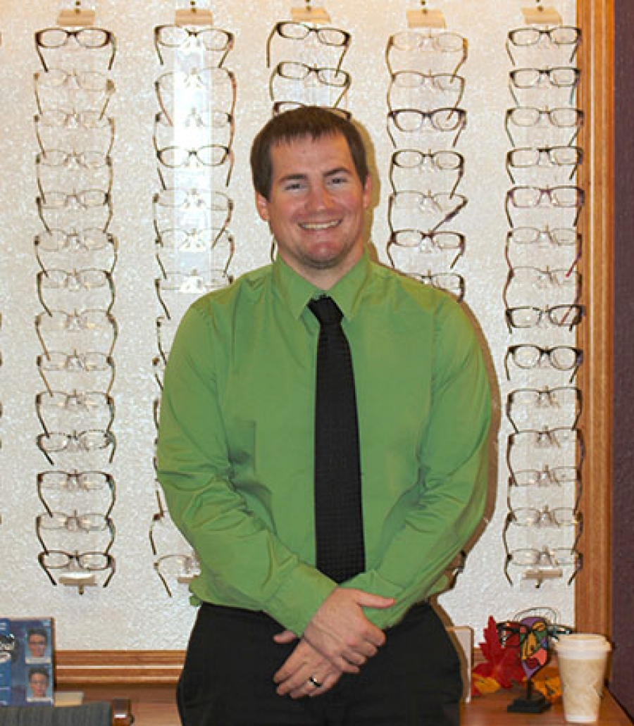 Dr. Brad Marcy is the newest member of the Gordon Vision Center team, filling the hole left by Dr. Joseph Shetler last winter.