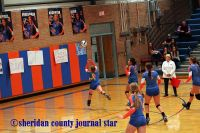 Gordon-Rushville Volleyball vs. Badgers 2016