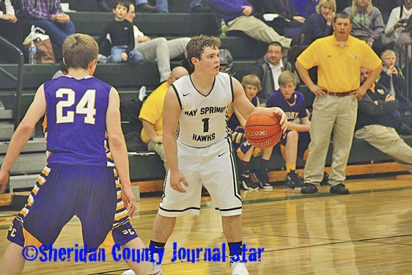 Hay Springs boys basketball vs. Sioux County