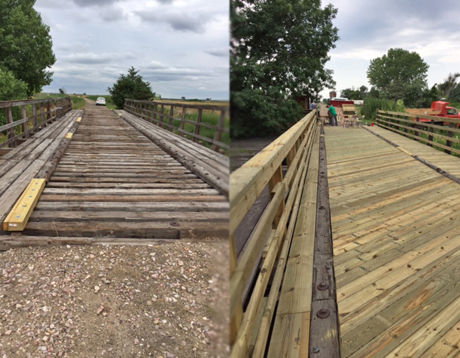 Community finishes two bridges on Cowboy Trail