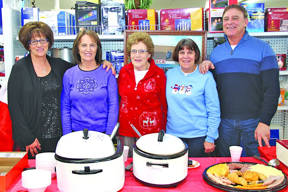 Marge Hinn celebrates 85th birthday, Hinn's Hardware 60 years of business