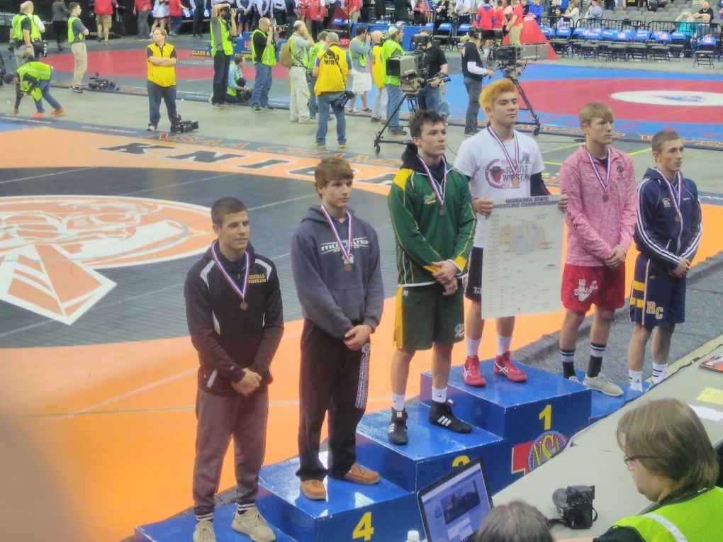 Belsky takes fourth at State Wrestling