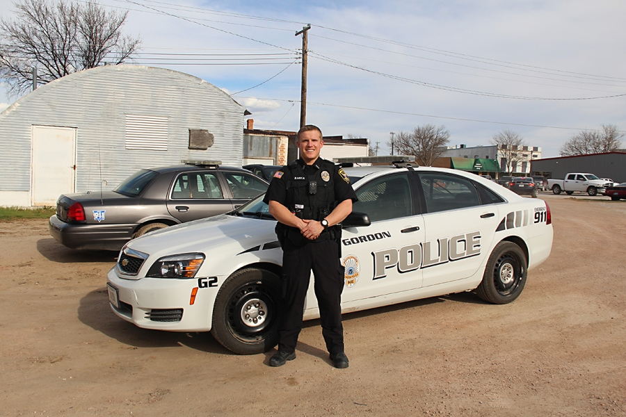 Gordon Police Officer Brandon Mika recently joined the Gordon Police Department.