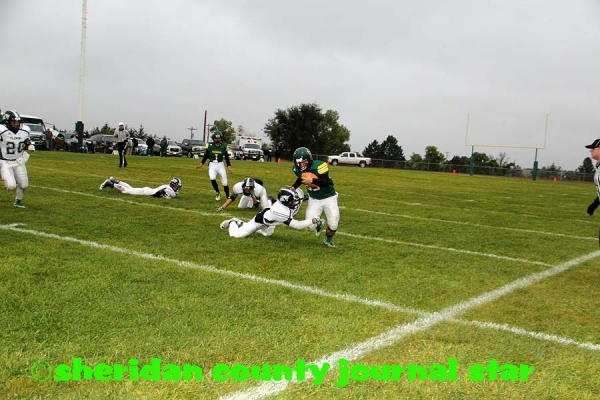 Hay Springs football vs. Fleming, Colo.