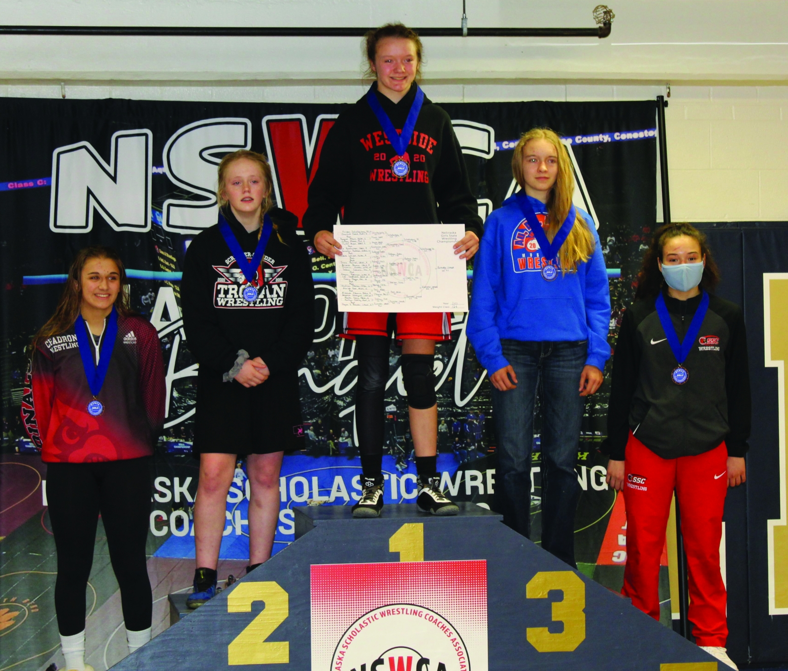Redman Takes Home Third Place at State