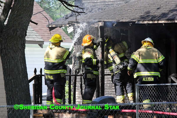 Gordon house catches fire Saturday morning