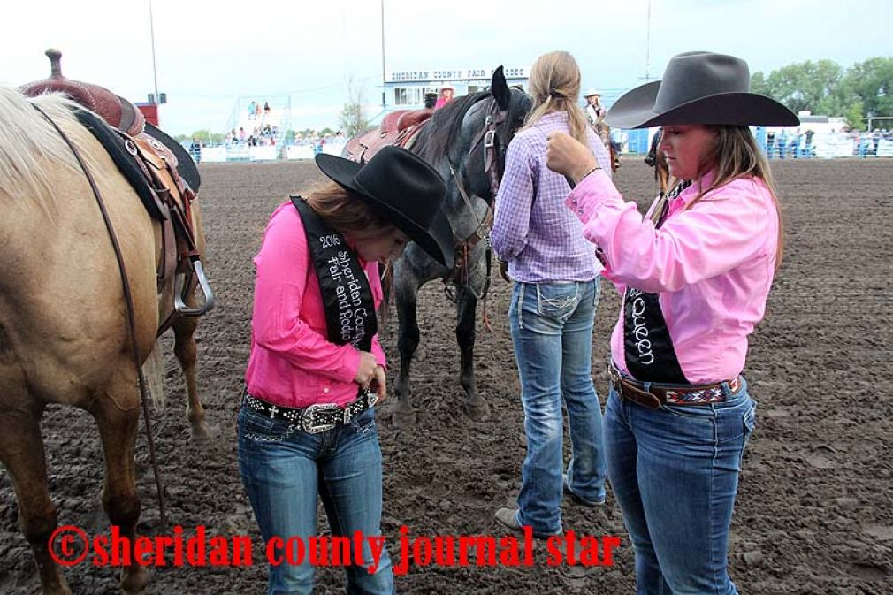 Crowning the 2016 Fair and Rodeo Queen and Princess