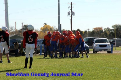 GRMS 8th grade FB vs Chadron 2014