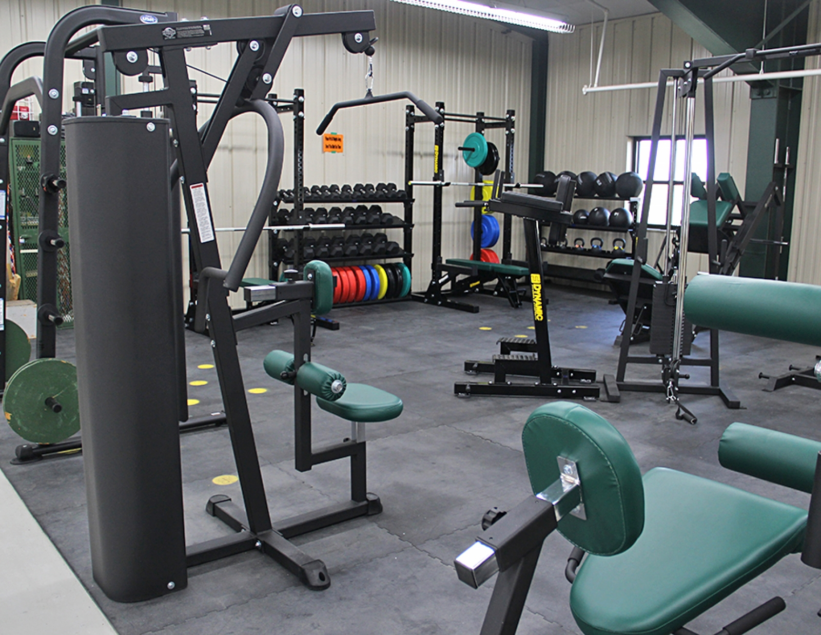 Foundation updates Lister-Sage workout equipment