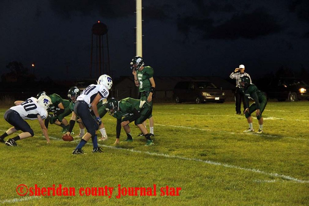 Hay Springs football vs Banner County
