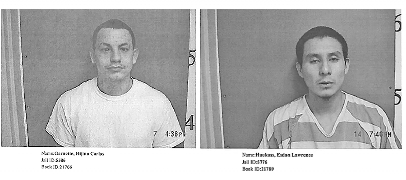 Two inmates escape from County Jail, still at large