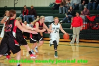 Hay Springs basketball versus McPherson County