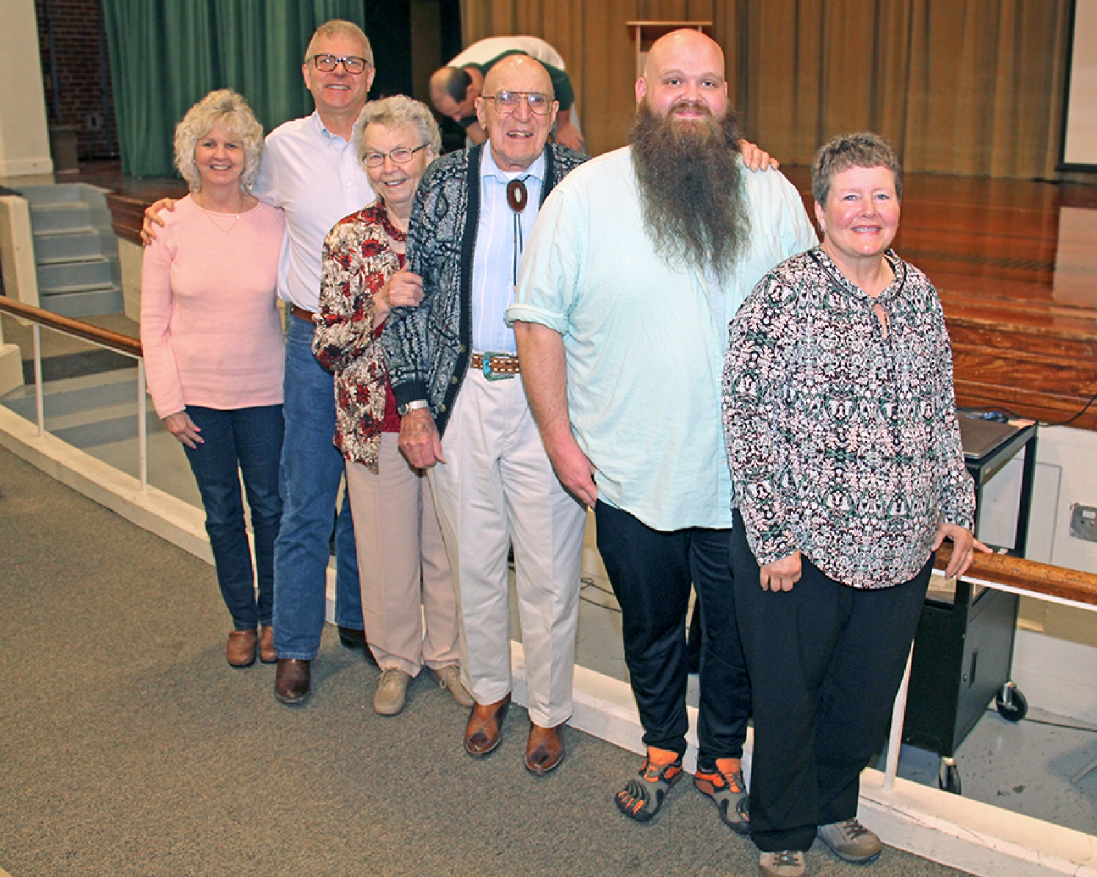 Hay Springs Elders' Wisdom honors Hunzekers