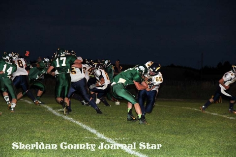 Hay Springs FB vs Rapid City Christian Comets