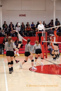 Hay Springs Volleyball October 29, 2018