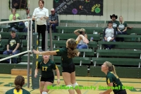 Hay Springs Volleyball vs Potter Dix, Homecoming 2019