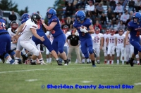GR Football vs Sidney 9-6-19