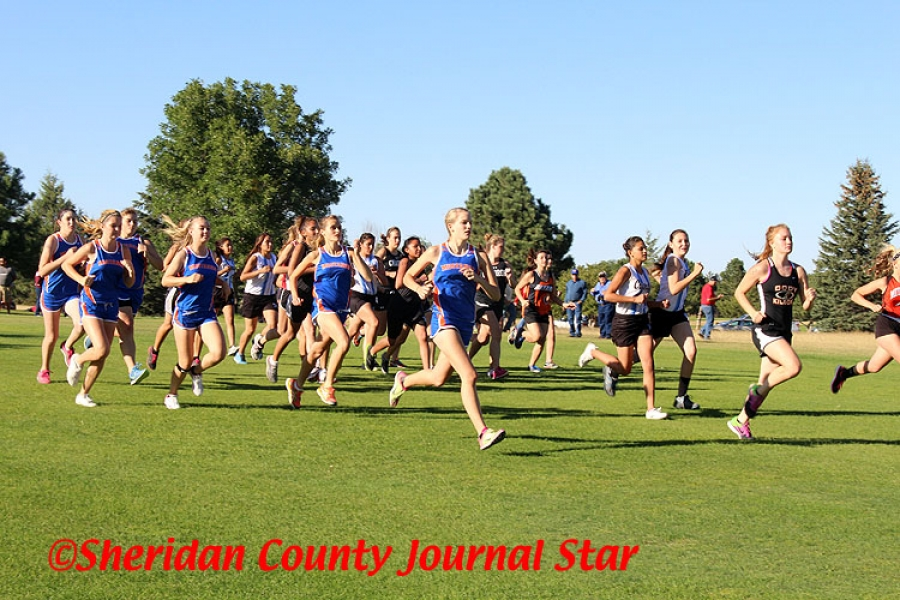 Gordon-Rushville hosted a cross country meet last Thursday at the Gordon Country Club. The Mustangs had a great run with the girls winning the team title.