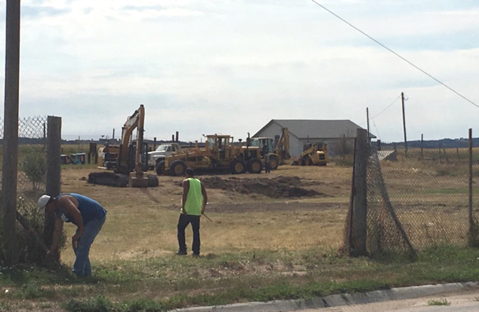 Family Dollar is under construction in Whiteclay