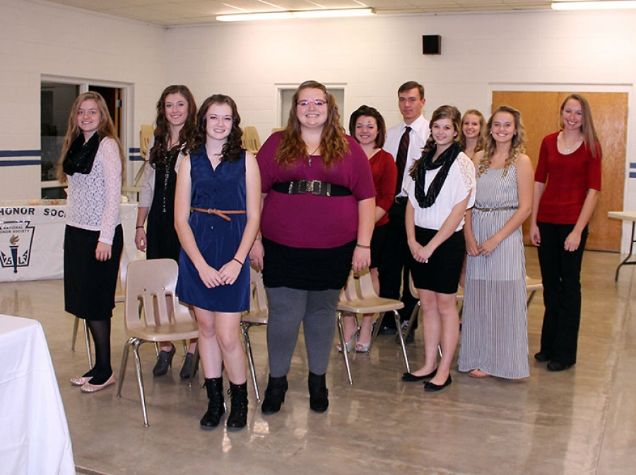 G-R National Honor Society inducts ten