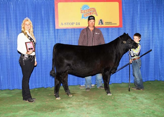 Krebs wins grand champion at state fair