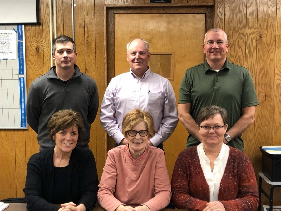 Nebraska School Board Appreciation Week began Sunday, January 27. There are currently 1,700 locally elected officials serving Nebraska schools, including these Gordon-Rushville School Board Members (pictured left to right): back row - Michael Ziller, Mark Kruger, Dave Johnson; front row: Kathleen Willnerd, Sherry Retzlaff, and Krista Wegner.