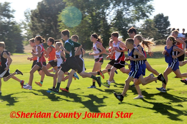 Cross Country at Gordon-Rushville 2013